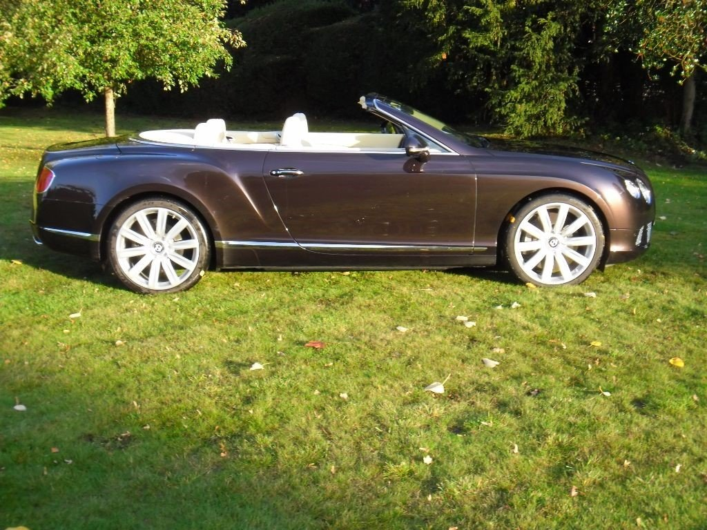 2013 BENTLEY GTC MULLINER W12 For Sale (picture 5 of 6)