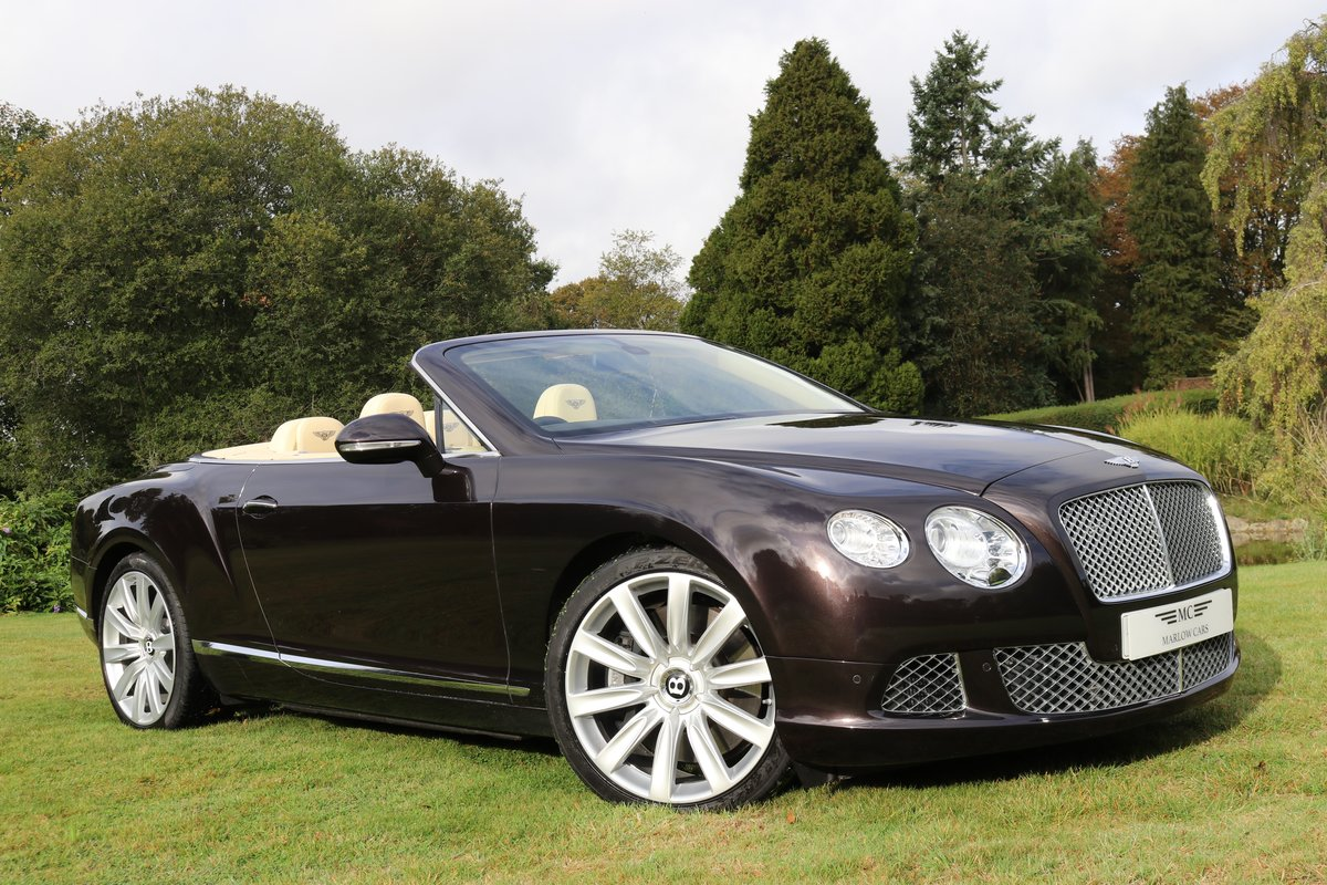 2013 BENTLEY GTC MULLINER W12 For Sale (picture 1 of 6)