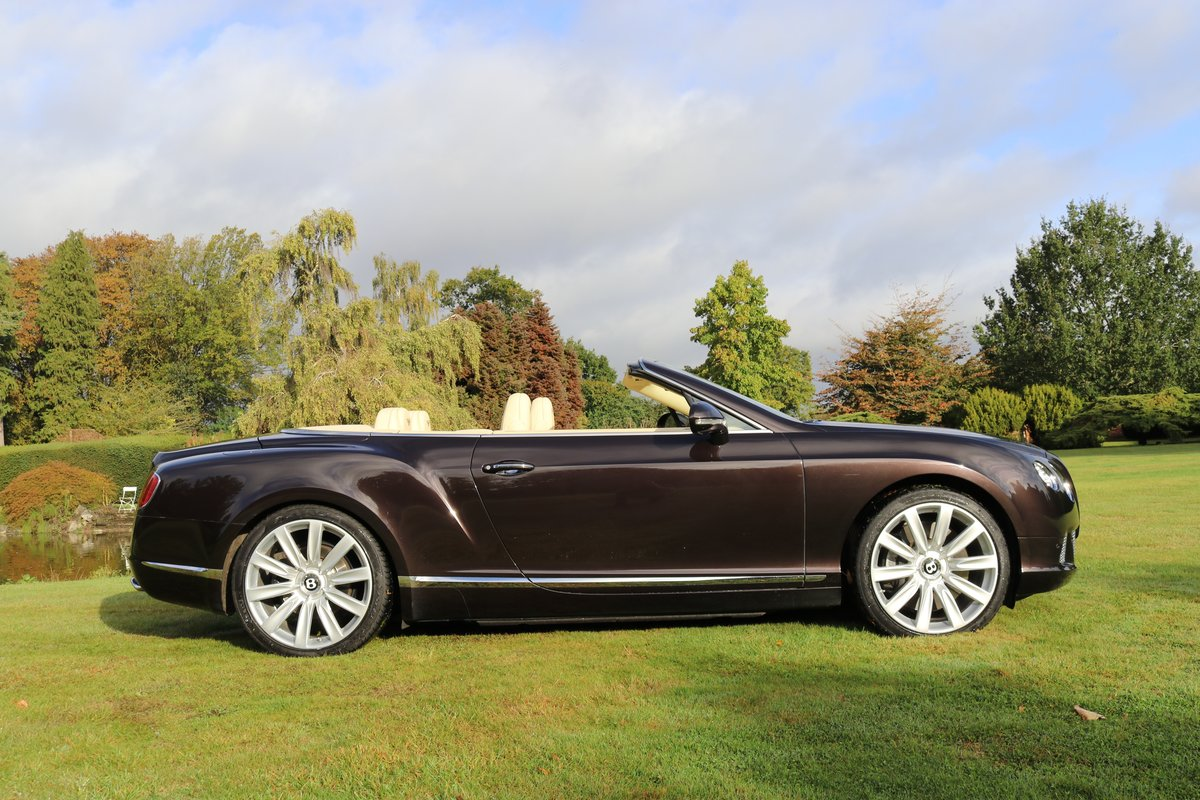 2013 BENTLEY GTC MULLINER W12 For Sale (picture 2 of 6)