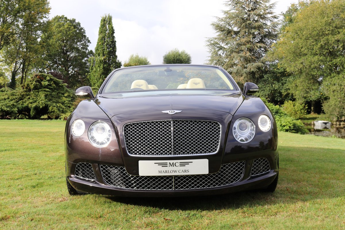 2013 BENTLEY GTC MULLINER W12 For Sale (picture 3 of 6)