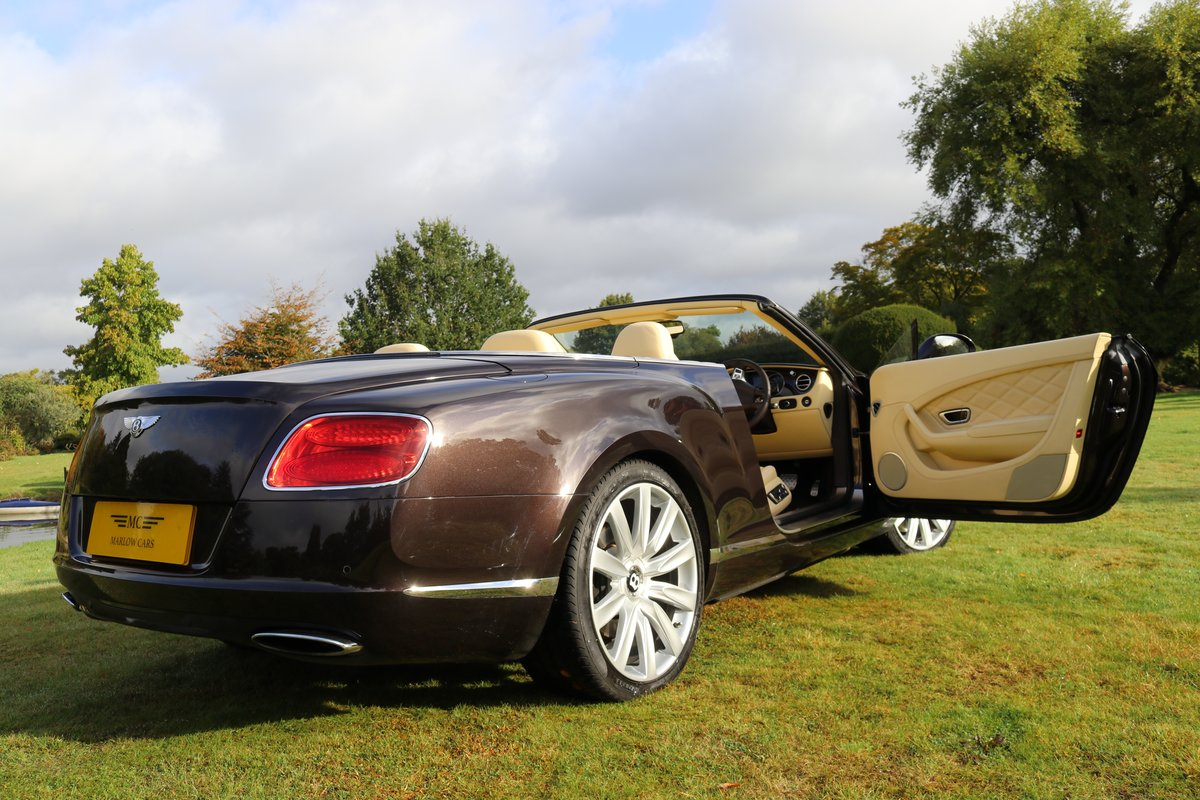 2013 BENTLEY GTC MULLINER W12 For Sale (picture 6 of 6)
