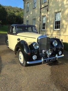 1952 Bentley Mark 6 (MK VI) Big Bore Saloon For Sale