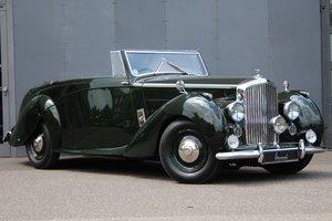 1947 Bentley Mark VI 4 1/4 Litre Drophead Coupé RHD
