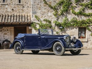 1936 Bentley 4-Litre Drophead Coup by Park Ward For Sale by Auction
