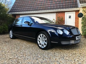 2005 Bentley continental 6.0 Flying Spur a stunning fsh example