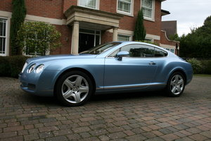 2004 Bentley Continental GT, 31000mls REDUCED