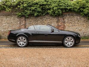2008 Bentley  Continental GTC  Continental GTC - Mulliner Driving