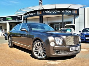 2012 Bentley Mulsanne Mulliner Driving Spec.