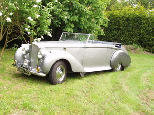 1949 Bentley MK 6 Park Ward foursome coupe