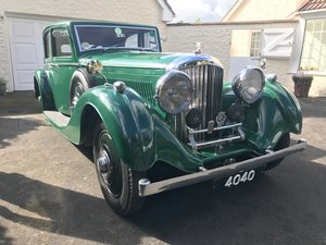 1937 Bentley 4 1/4 VDP Sports Saloon with interesting history