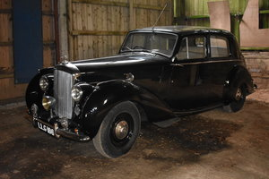 LOT 7: A 1949 Bentley MkVI - 03/11/19 SOLD by Auction