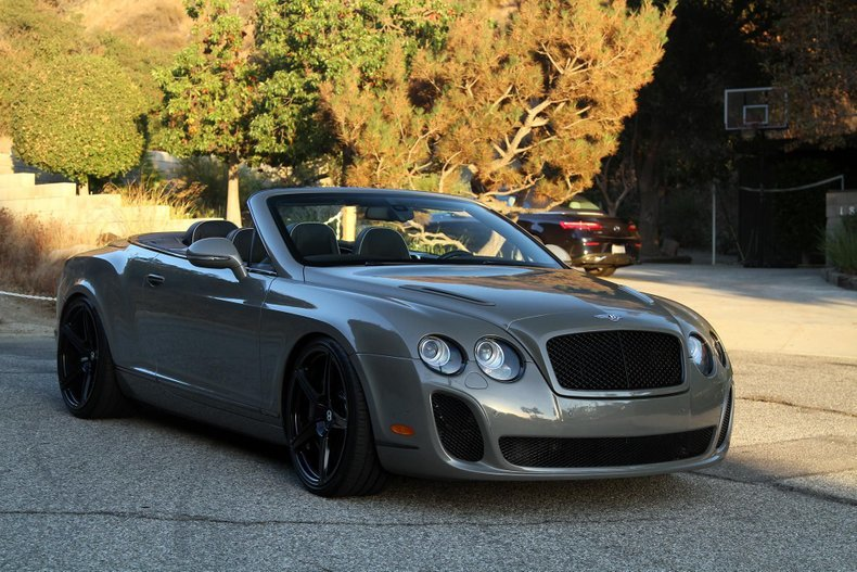 2011 Bentley Continental Supersports Convertible For Sale (picture 1 of 6)