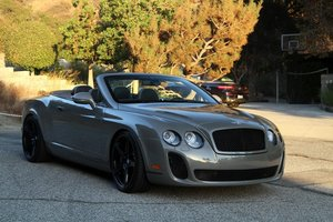 Picture of 2011 Bentley Continental Supersports Convertible SOLD