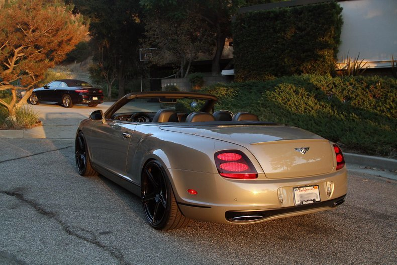 2011 Bentley Continental Supersports Convertible For Sale (picture 2 of 6)