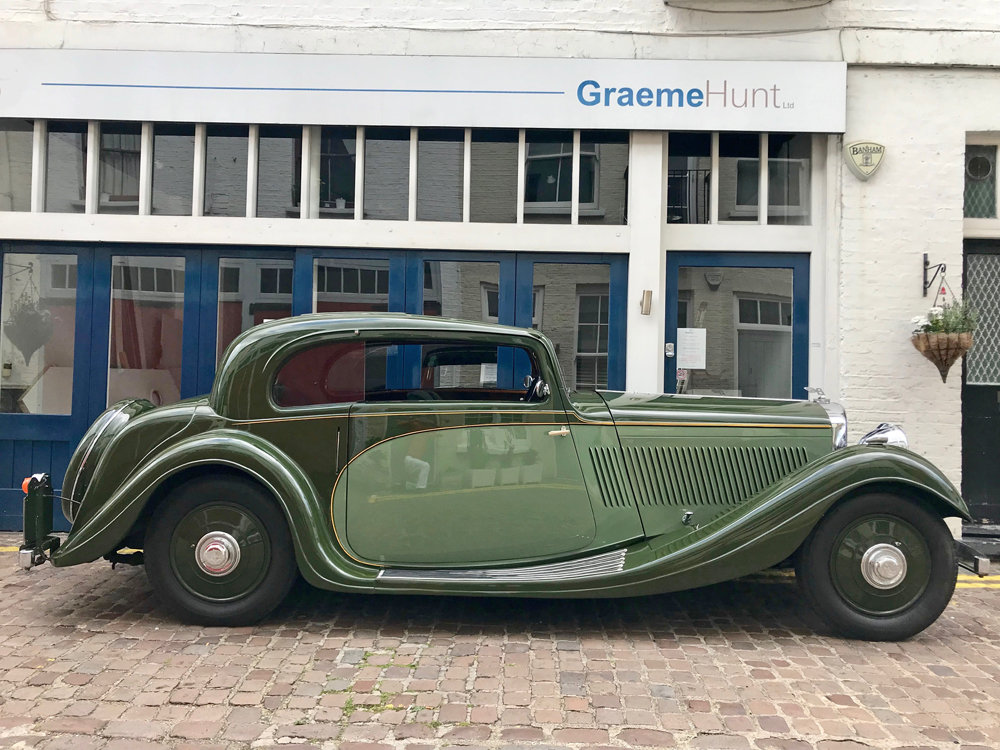 1935 Bentley 3.5 litre Coupe by Gurney Nutting For Sale (picture 3 of 24)