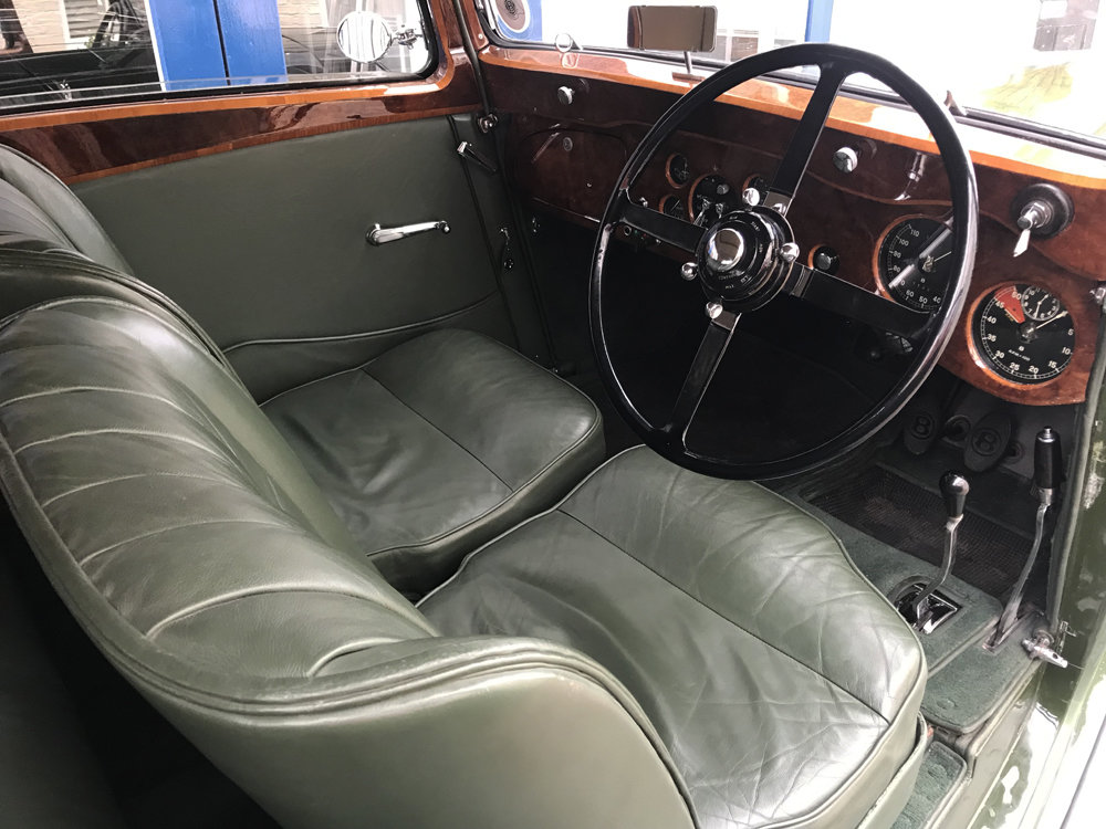 1935 Bentley 3.5 litre Coupe by Gurney Nutting For Sale (picture 4 of 24)
