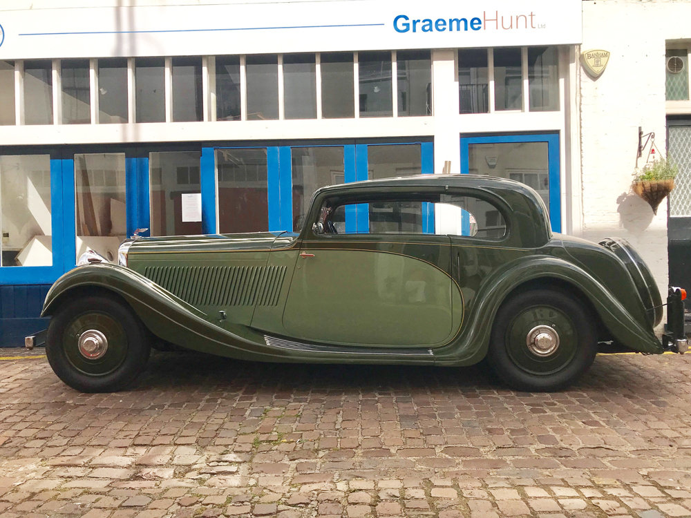 1935 Bentley 3.5 litre Coupe by Gurney Nutting For Sale (picture 7 of 24)