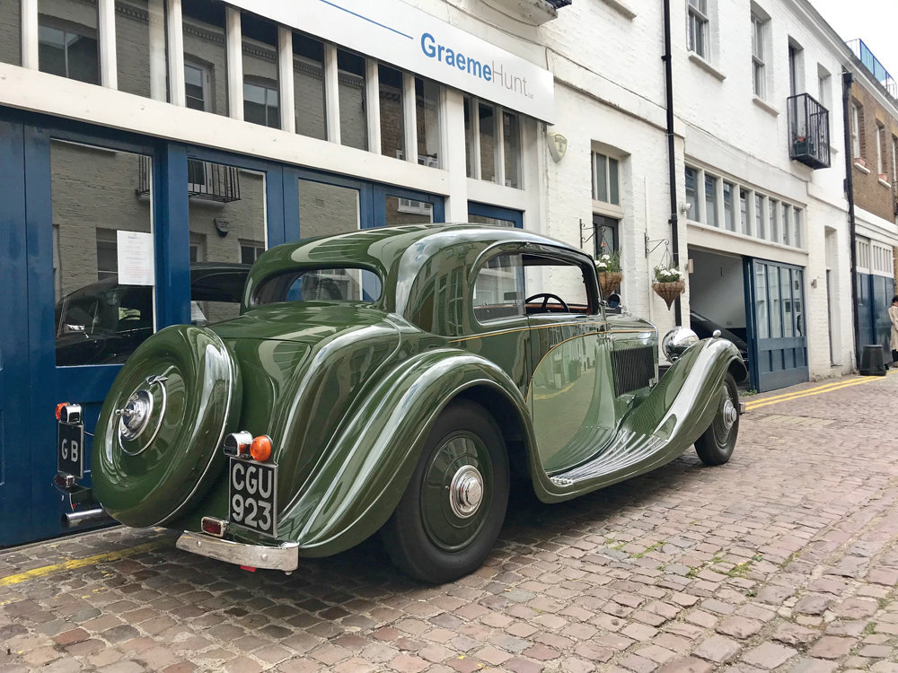 1935 Bentley 3.5 litre Coupe by Gurney Nutting For Sale (picture 9 of 24)