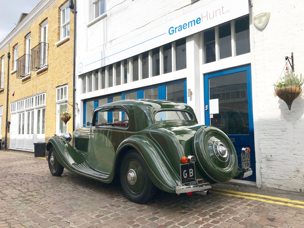 1935 Bentley 3.5 litre Coupe by Gurney Nutting For Sale (picture 11 of 24)