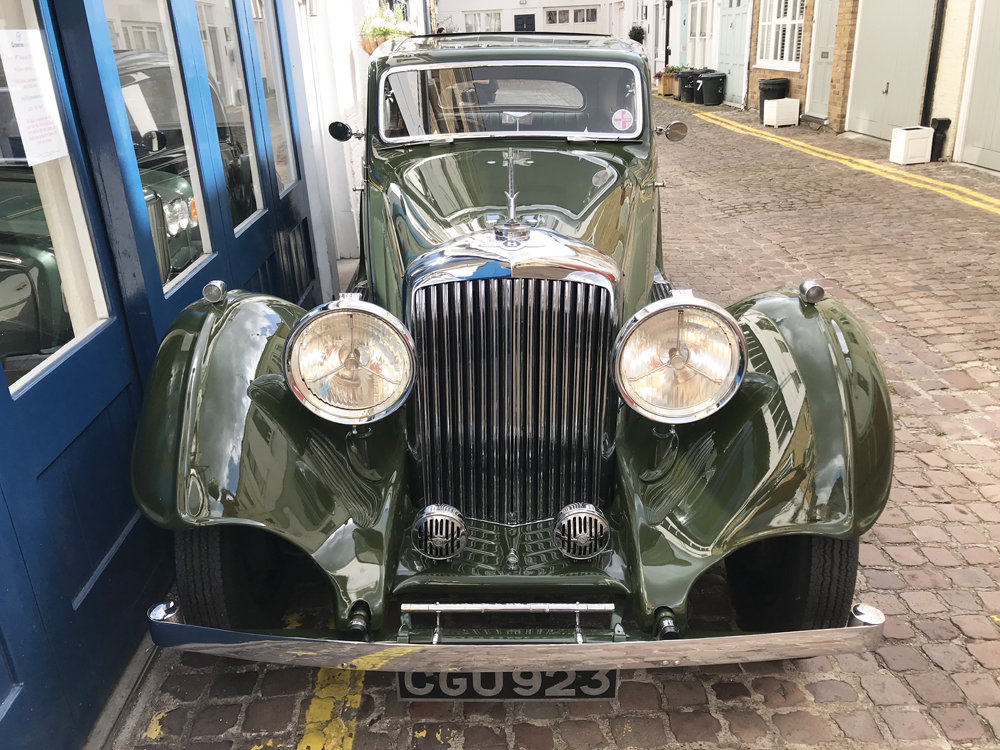 1935 Bentley 3.5 litre Coupe by Gurney Nutting For Sale (picture 15 of 24)