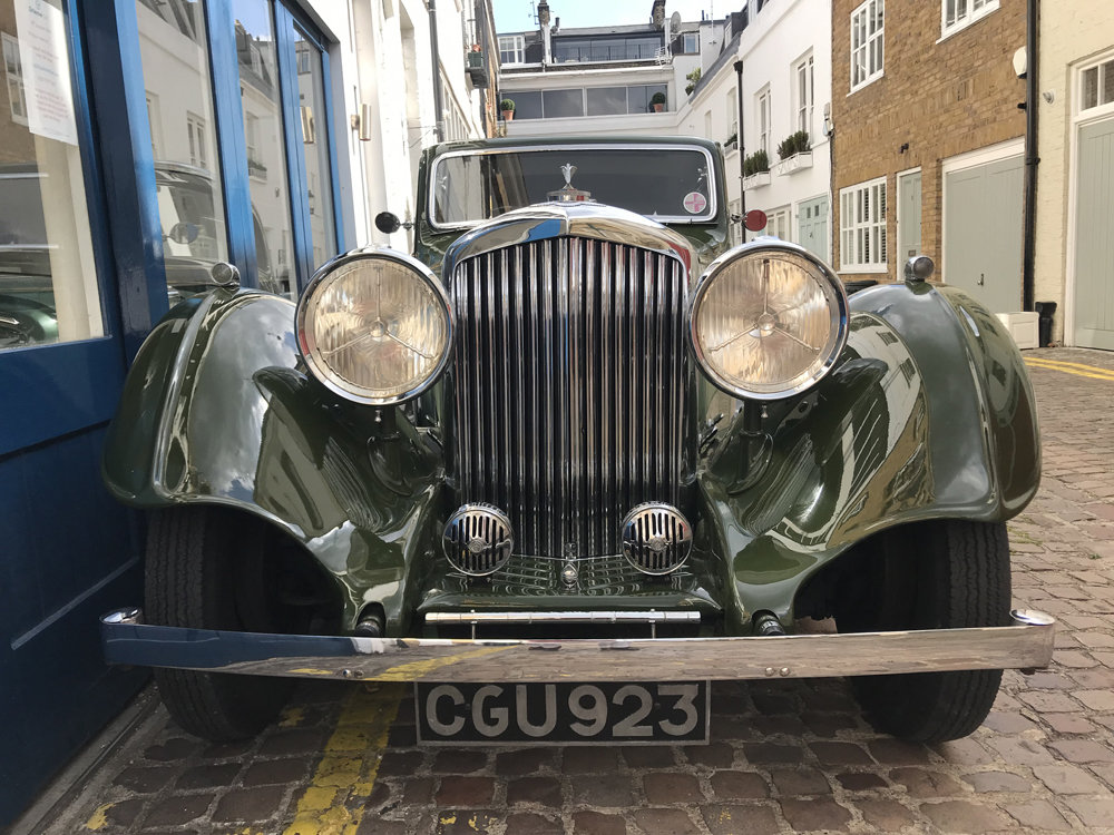 1935 Bentley 3.5 litre Coupe by Gurney Nutting For Sale (picture 16 of 24)