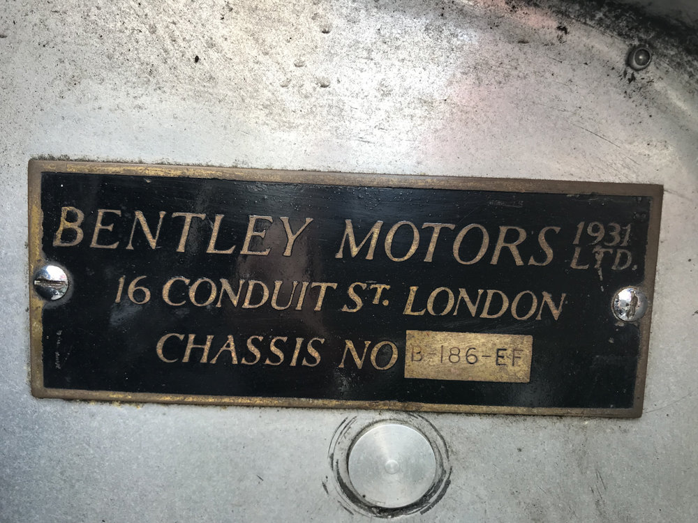 1935 Bentley 3.5 litre Coupe by Gurney Nutting For Sale (picture 24 of 24)