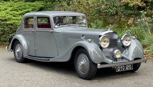 1937 Bentley 4 ¼ Litre Park Ward Sports Saloon B172JD For Sale