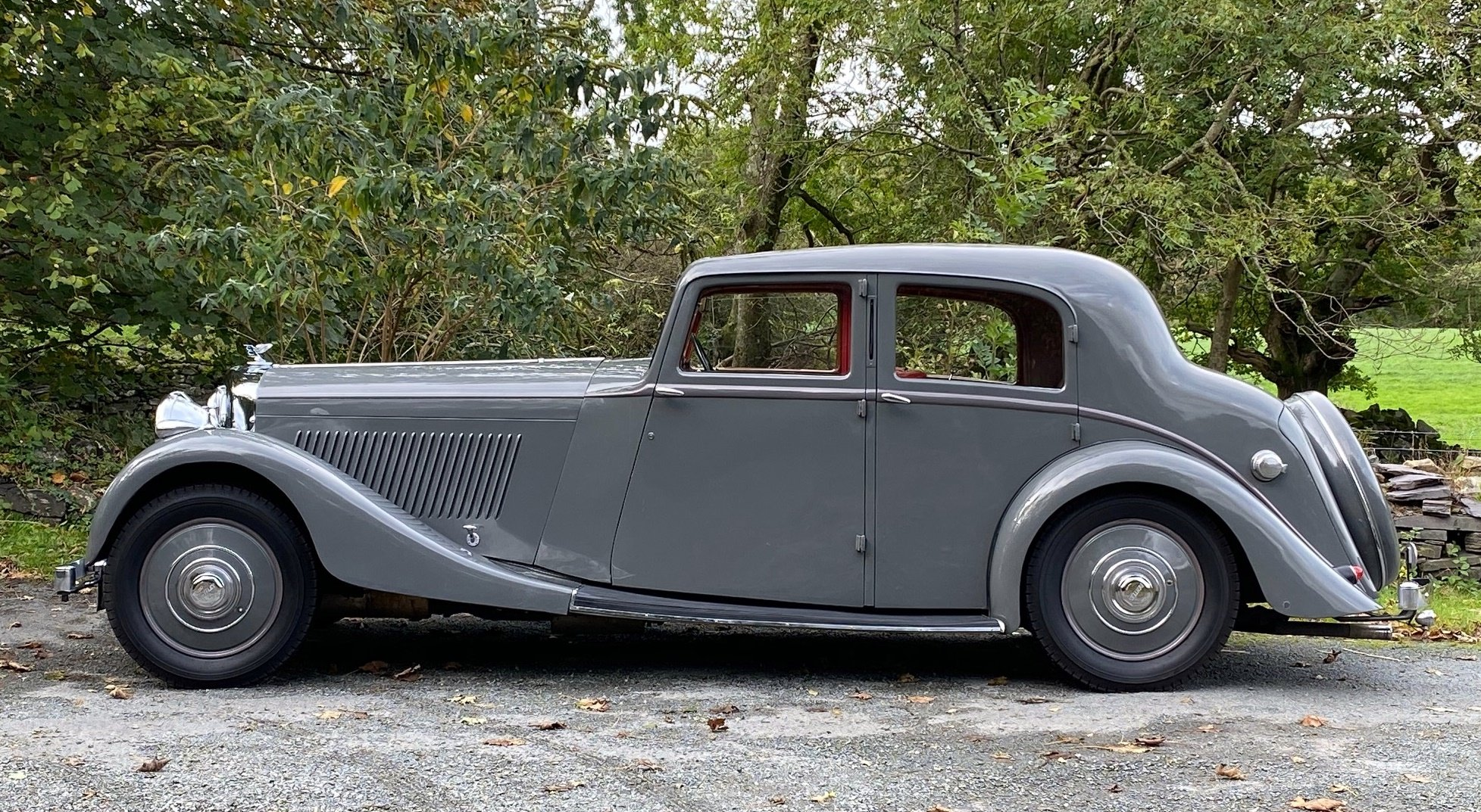 1937 Bentley 4 ¼ Litre Park Ward Sports Saloon B172JD For Sale (picture 3 of 6)