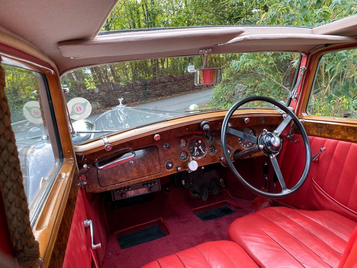 1937 Bentley 4 ¼ Litre Park Ward Sports Saloon B172JD For Sale (picture 4 of 6)