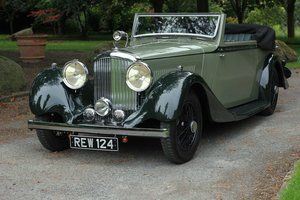 1934 Derby Bentley 3 ½ Litre Hooper Bodied Drophead Coupe