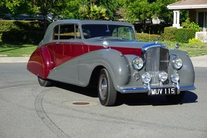 1951 Bentley Park Ward Coupe RHD #21863