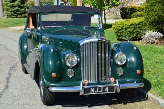1953 Bentley R Type Drophead #18491 For Sale (picture 1 of 5)