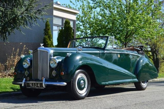 1953 Bentley R Type Drophead #18491 For Sale (picture 3 of 5)
