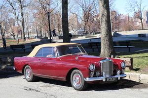 1962 Bentley S2 Continental Park Ward Convertible LHD #21675 For Sale
