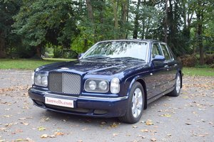 2003/03 Bentley Arnage R in Peacock Blue For Sale