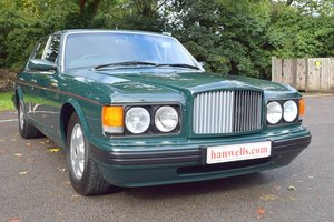 1997 P Bentley Brooklands Turbo in Racing Green