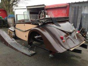 1937 Body Bentley 4 1/2 Vanden Plas Tourer  For Sale