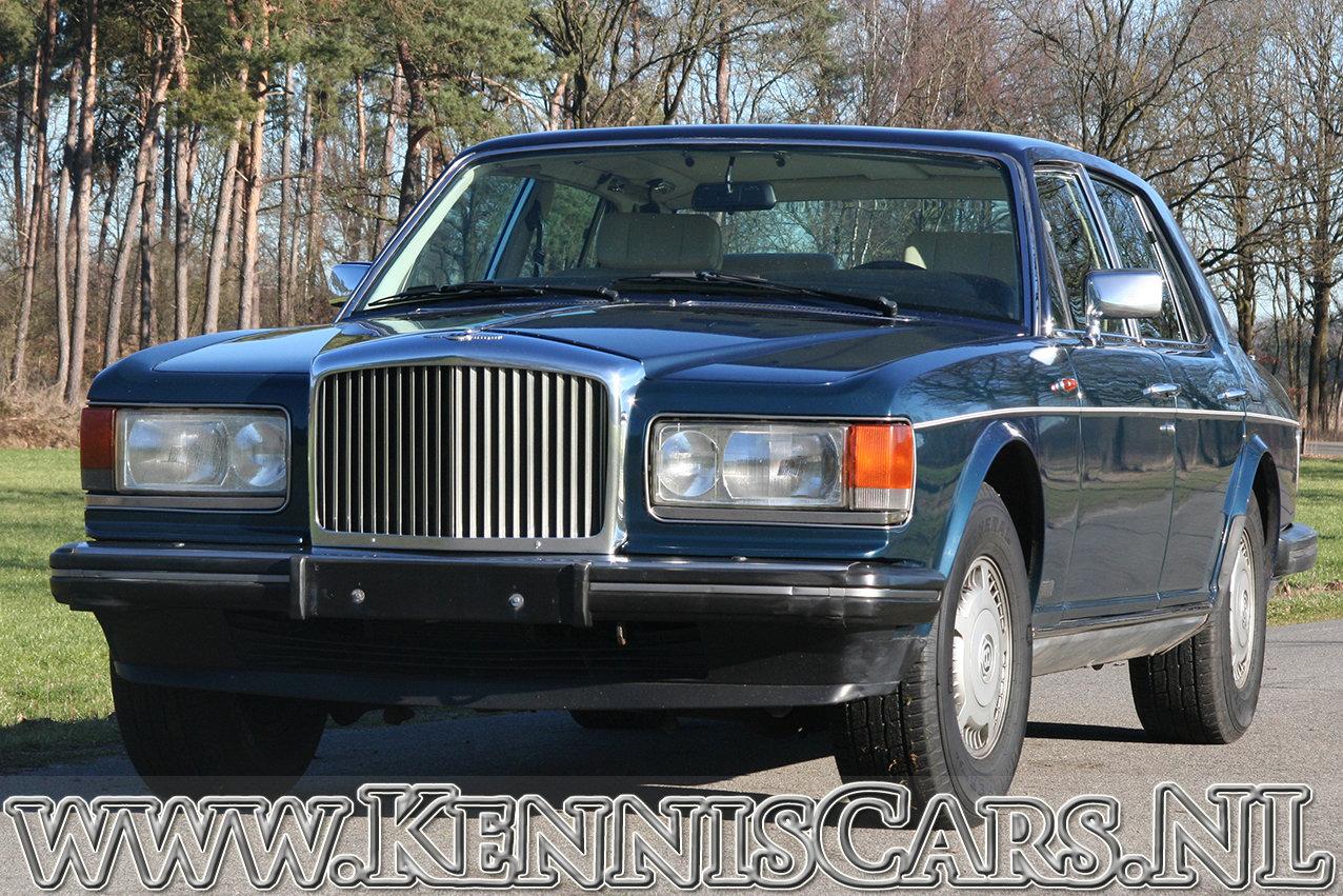 1987 Bentley Mulsanne Saloon original Dutch delivered car For Sale (picture 1 of 6)