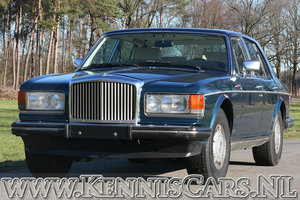 1987 Bentley Mulsanne Saloon original Dutch delivered car For Sale
