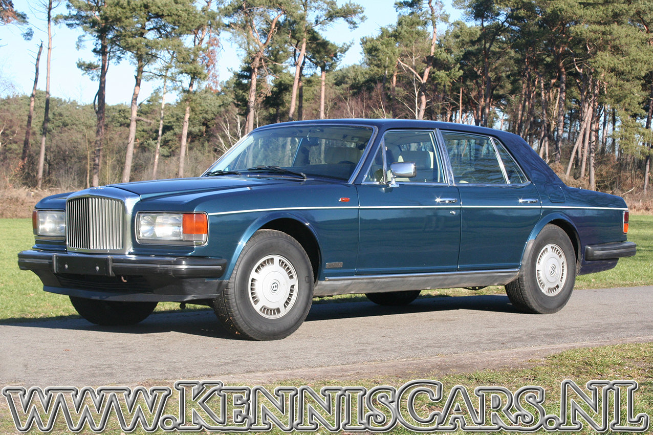 1987 Bentley Mulsanne Saloon original Dutch delivered car For Sale (picture 2 of 6)