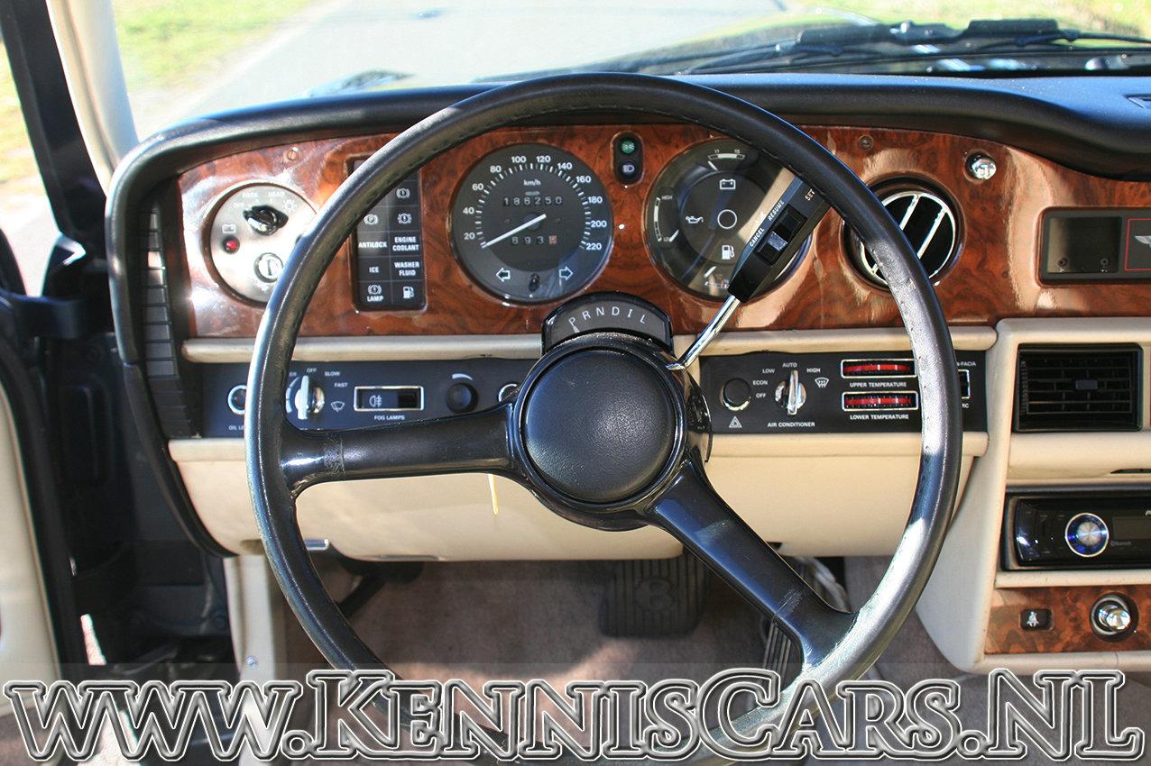1987 Bentley Mulsanne Saloon original Dutch delivered car For Sale (picture 5 of 6)