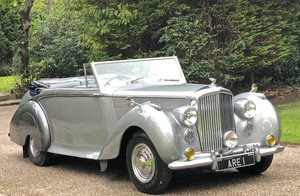 1949 Bentley MKVI Convertible        indian Royal History For Sale