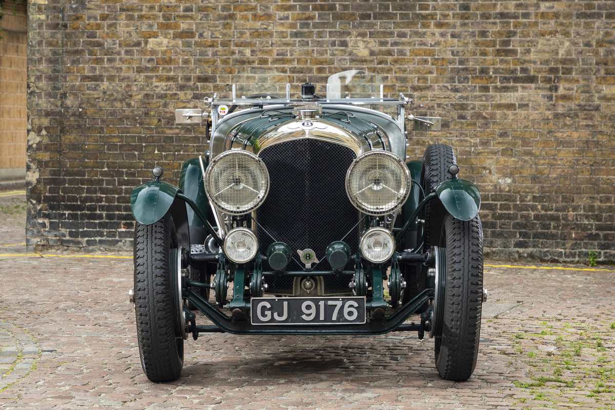 1930 Bentley 4 12 Litre Vanden Plas Le Mans Style Tourer For Sale (picture 2 of 12)