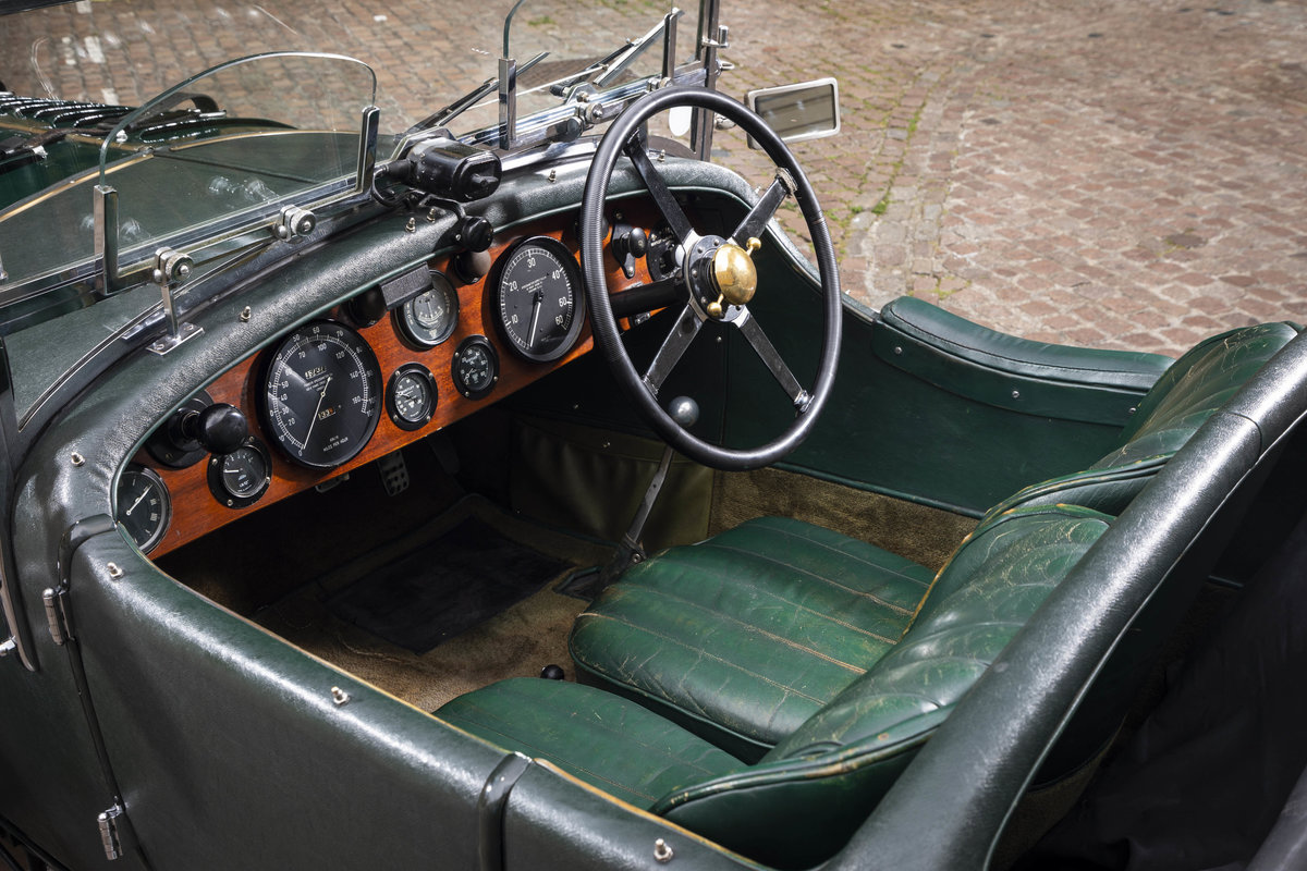 1930 Bentley 4 12 Litre Vanden Plas Le Mans Style Tourer For Sale (picture 8 of 12)