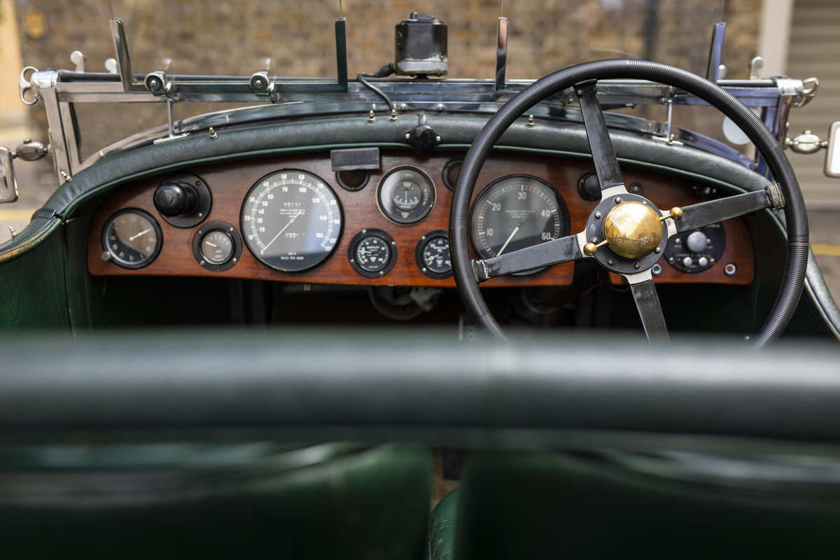 1930 Bentley 4 12 Litre Vanden Plas Le Mans Style Tourer For Sale (picture 9 of 12)