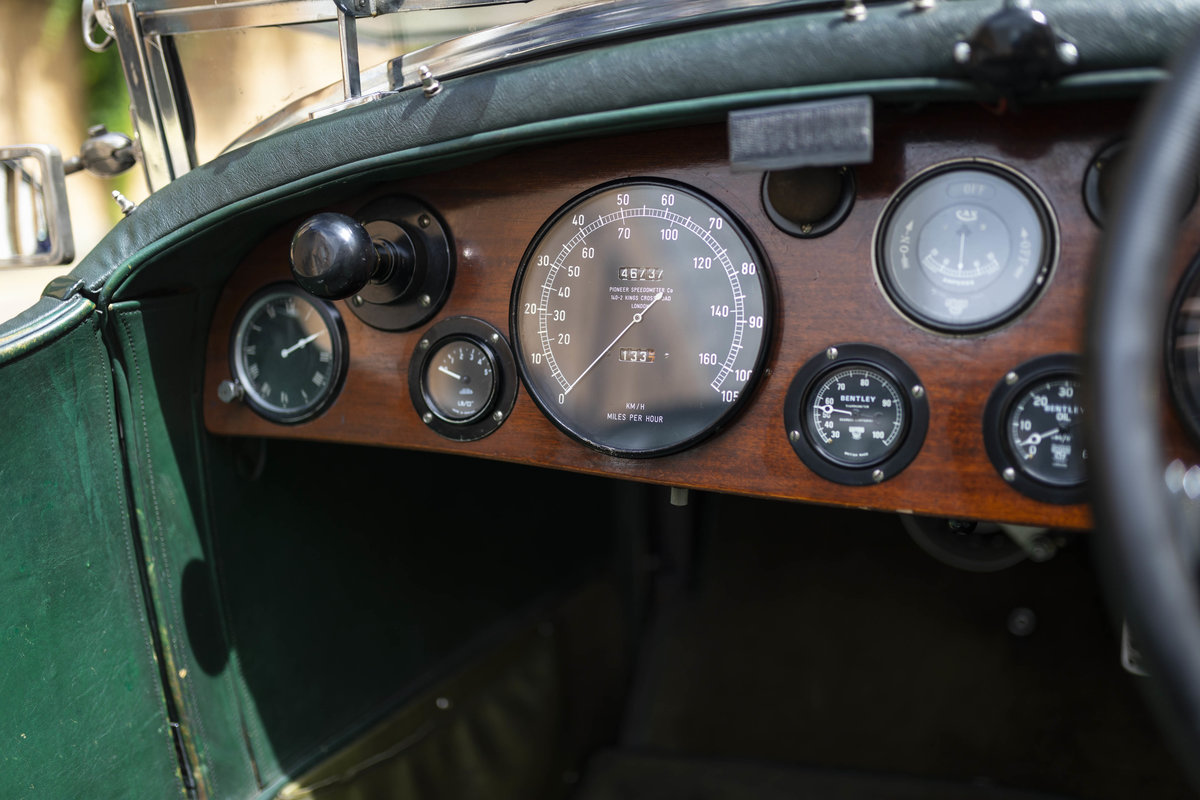 1930 Bentley 4 12 Litre Vanden Plas Le Mans Style Tourer For Sale (picture 10 of 12)