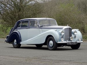 1952 Bentley R-Type H.J. Mulliner Sports Saloon