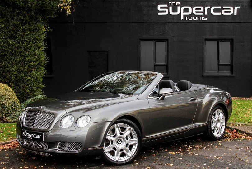 Bentley Continental GTC - Mulliner - 2009 - 31K Miles For Sale (picture 1 of 6)