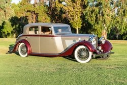 Picture of 1936  Bentley 4 1/4 litre saloon RHD rare coach work by J. C