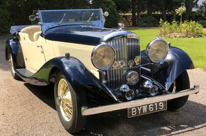 1935 BENTLEY 3 1/2 LITRE Vanden Plas open Tourer